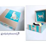 """Kocie pudełko na """"Kocie Skarby"""""""