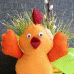 Kurczak z filcu