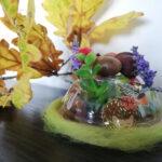 Jesienna Dekoracja z recyklingu