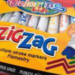 Mazaki ZIG ZAG COLORINO – zwariowane wzory